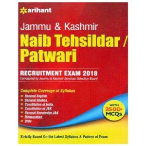 best book for jkssb naib tehsildar & patwari exam