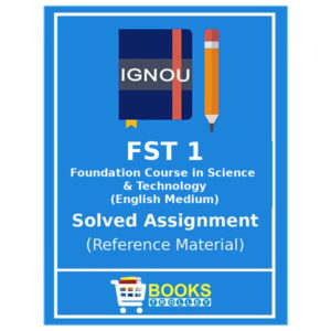 Ignou Foundation Course in Science and Technology