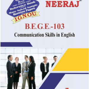 IGNOU BEGE 103 Book (Communication Skills in English)