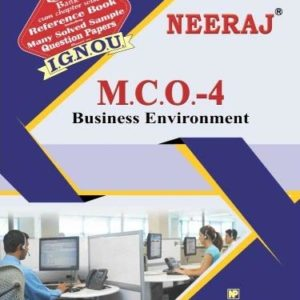 IGNOU MCO 4 Book in English Medium