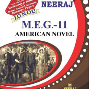 IGNOU MEG 11 Book (American Novel)