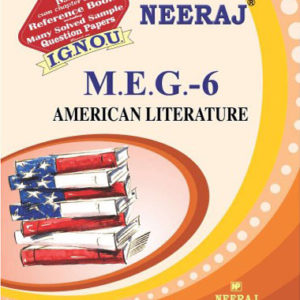 IGNOU MEG 6 Book (American Literature)