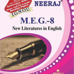 ignou meg 8 book (New Literatures in English)