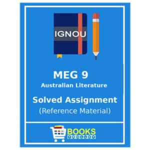 MEG 9 IGNOU Solved Assignment