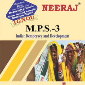 IGNOU MPS 3 Book in English Medium