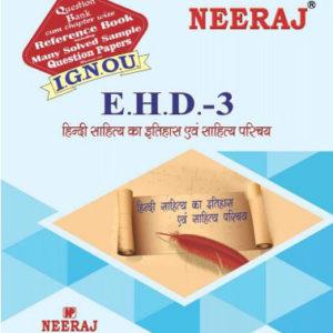 IGNOU EHD 3 Book