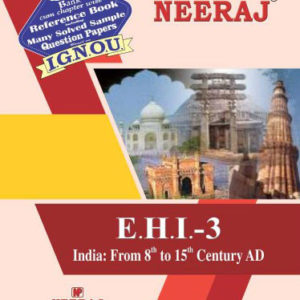 Buy-EHI-3-India -From 8th to 15th Century (IGNOU help book for EHI-3 in English Medium