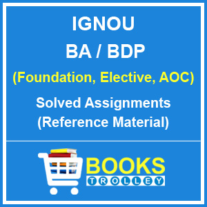 IGNOU BA Solved Assignments