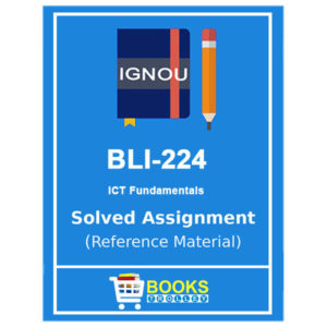 IGNOU BLI 224 Solved Assignment