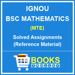 IGNOU BSC Mathematics Solved Assignments
