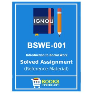 IGNOU BSWE 1 Solved Assignment