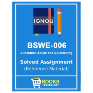 BSWE 006 solved assignment
