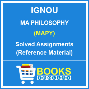 IGNOU MA Philosophy Solved Assignments 2018-19