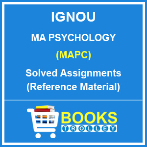 IGNOU MA Psychology Solved Assignments 2018-19