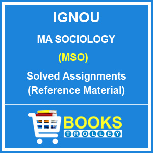IGNOU MA Sociology Solved Assignments 2018-19