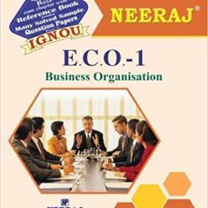 ECO 1 Book of IGNOU B.Com Course