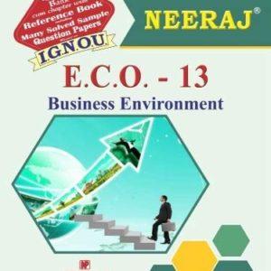 ECO 13 IGNOU Book In English Medium