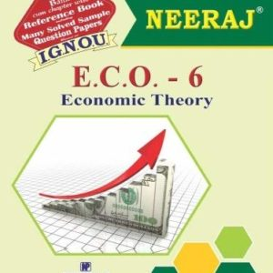 IGNOU ECO 6 book in English Medium