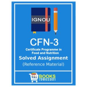 IGNOU CFN 3 solved assignment