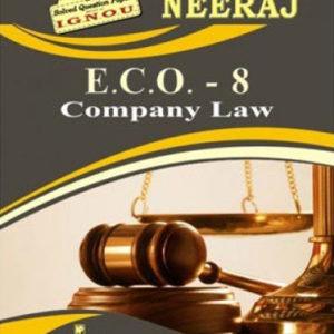 IGNOU ECO 8 Book in English Medium