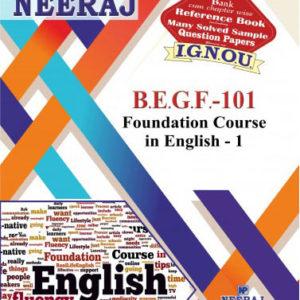 IGNOU BEGF 101 Book / FEG 1 Book