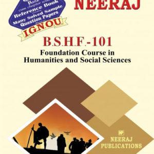 IGNOU BSHF 101 Book
