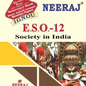 IGNOU ESO 12 Book in English Medium