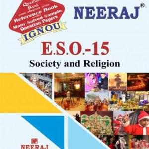 IGNOU ESO 15 Book in English Medium