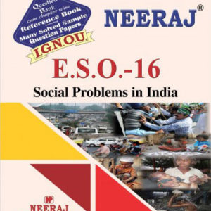 IGNOU ESO 16 Book in English Medium