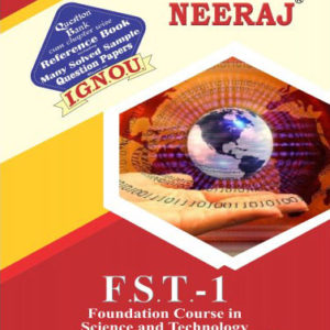 IGNOU FST 1 Book in English Medium