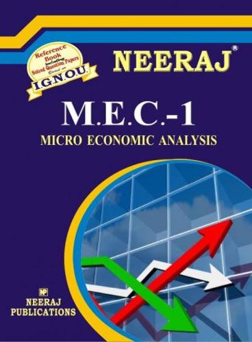 IGNOU MEC 1 Book