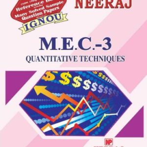 IGNOU MEC 3 Book