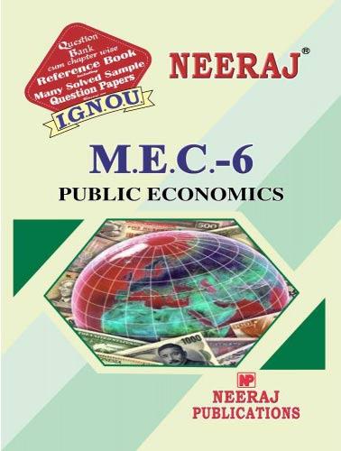IGNOU MEC 6 Book English Medium
