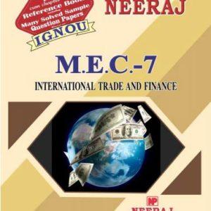 IGNOU MEC 7 Book in English Medium
