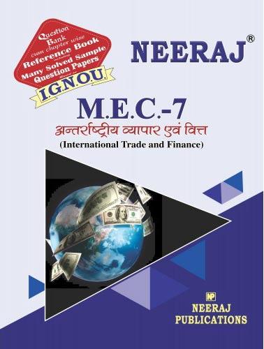 IGNOU MEC 7 Book in Hindi Medium