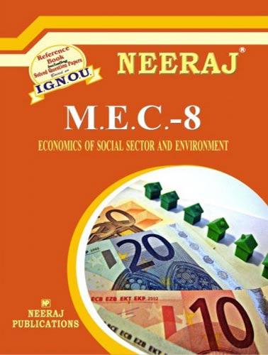 IGNOU MEC 8 Book in English Medium