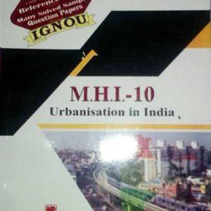 IGNOU MHI 10 book