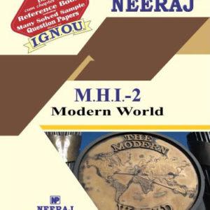 IGNOU MHI 2 Book in English Medium