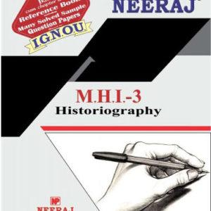 IGNOU MHI 3 Book in English Medium