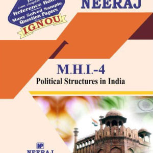 IGNOU MHI 4 Book in English Medium