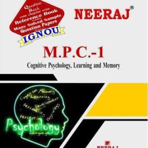 IGNOU MPC 1 Book