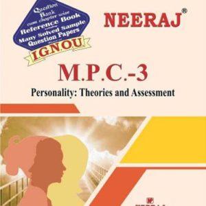 IGNOU MPC 3 Book