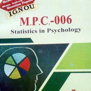 IGNOU MPC 6 Book