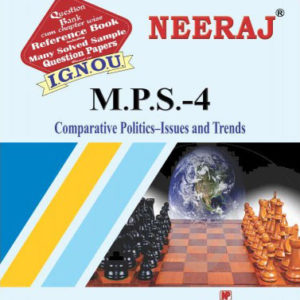 IGNOU MPS 4 Book in English medium