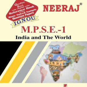IGNOU MPSE 1 Book in English Mediu,