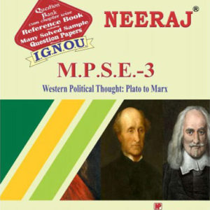 IGNOU MPSE 3 Book in English Medium