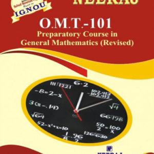 IGNOU OMT 101 Book in English Medium