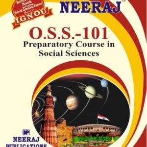 IGNOU OSS 101 book in English medium