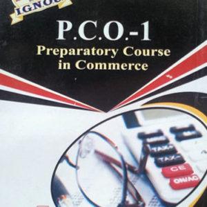 IGNOU PCO 1 Book in English medium